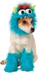 disfraz de mon struo de las galletas para perro
