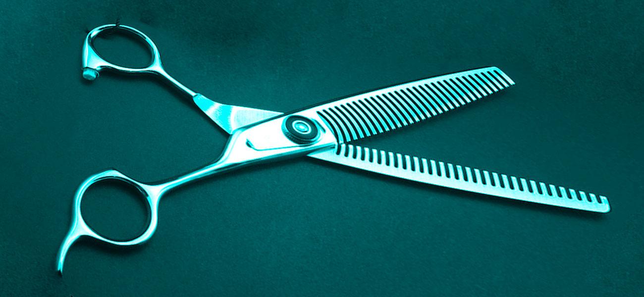 Lee más sobre el artículo Tijera de ENTRESACAR de peluquería canina